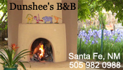 Dunshees Bed and Breakfast, Santa fe, NM